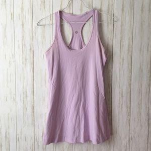 lululemon • Lavender Purple Razorback Tank Top